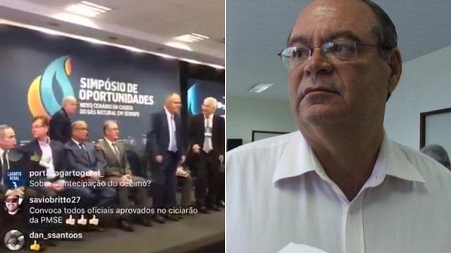 Resultado de imagem para Morte de empresário cancela evento com governador de Sergipe e ministro de Minas e Energia