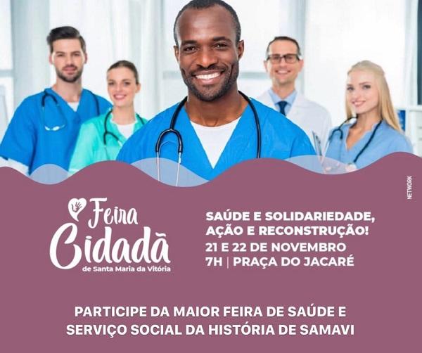 Feira Cidadã acontece esta semana em Santa Maria da Vitória - maisoeste