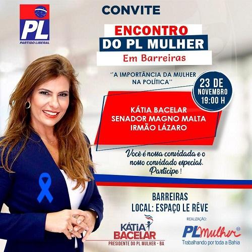 PL Mulher realizará grande evento em Barreiras - maisoeste